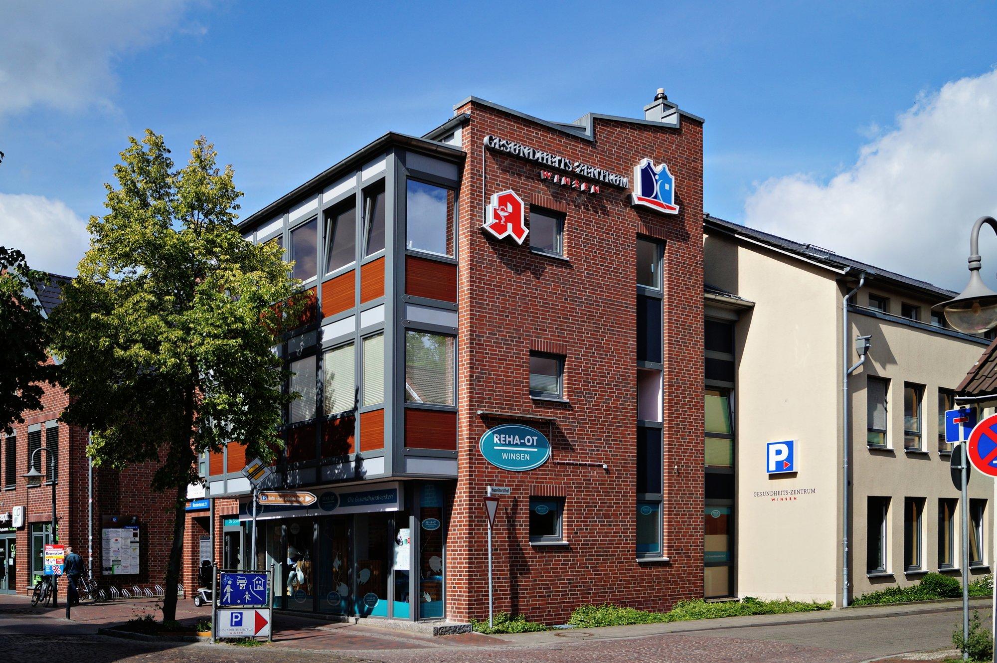 Fassade des Gesundheitszentrum