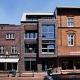 Die Fassade des Gebäudes zwischen dem Laden Heinricht Weck (links) und einem Brillengeschäft (rechts)
