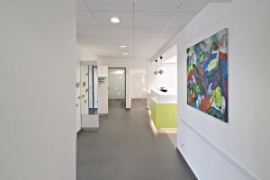 Eingangsbereich der Zahnarztpraxis